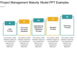 Project Management Maturity Model Ppt Examples