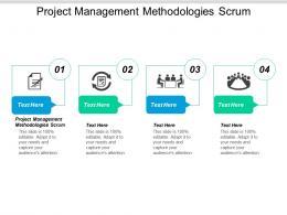 Project Management Methodologies Scrum Ppt Powerpoint Presentation Model Inspiration Cpb