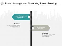 Project Management Monitoring Project Meeting Template Tqm Process Cpb