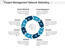 Project Management Network Marketing E Commerce Model Affiliate Marketing Cpb