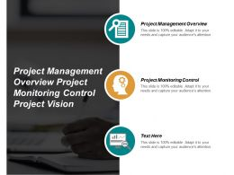 Project Management Overview Project Monitoring Control Project Vision Cpb