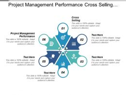 Project Management Performance Cross Selling Mapping Strategy Performance Measurement Cpb