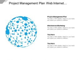 Project Management Plan Web Internet Marketing Marketing Plan Cpb