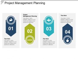 Project Management Planning Ppt Powerpoint Presentation File Examples Cpb
