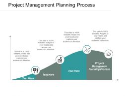 Project Management Planning Process Ppt Powerpoint Presentation File Designs Download Cpb