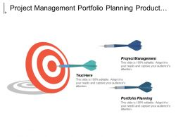 Project Management Portfolio Planning Product Development Change Management Cpb