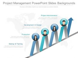 Project Management Powerpoint Slides Backgrounds