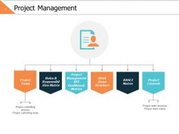 Project Management Ppt Powerpoint Presentation File Skills
