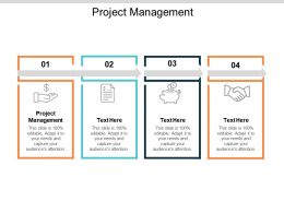 Project Management Ppt Powerpoint Presentation Gallery Infographic Template Cpb