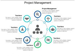 Project Management Ppt Powerpoint Presentation Slides Icons Cpb