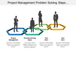 Project Management Problem Solving Steps Organizational Change Development Cpb