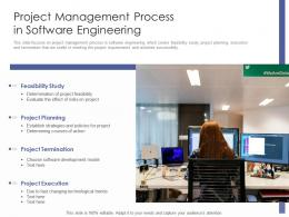 Project Management Process In Software Engineering