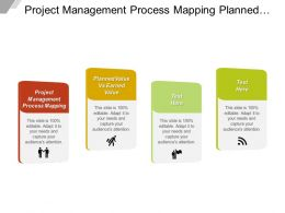Project Management Process Mapping Planned Value Vs Earned Value Cpb