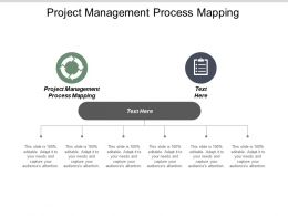 Project Management Process Mapping Ppt Powerpoint Presentation Portfolio Graphics Cpb