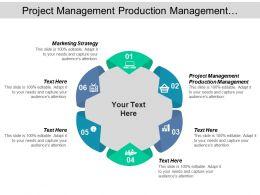 Project Management Production Management Marketing Strategy Market Segmentation Cpb