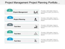 Project Management Project Planning Portfolio Management Events Management Cpb