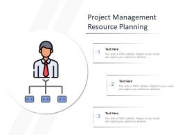 Project Management Resource Planning