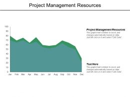 Project Management Resources Ppt Powerpoint Presentation Layouts Example Cpb
