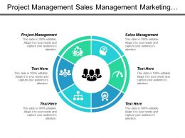 Project Management Sales Management Marketing Opportunity Business Marketing Cpb