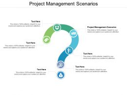Project Management Scenarios Ppt Powerpoint Presentation Pictures Rules Cpb