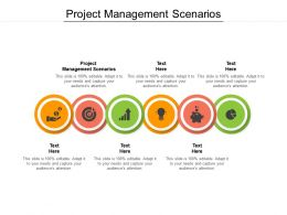 Project Management Scenarios Ppt Powerpoint Presentation Portfolio Graphics Cpb