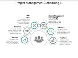 Project Management Scheduling S Ppt Powerpoint Presentation Icon Introduction Cpb
