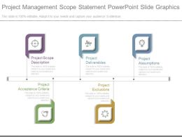 Project Management Scope Statement Powerpoint Slide Graphics