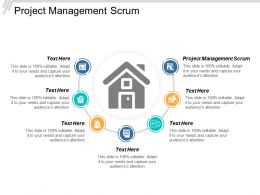 Project Management Scrum Ppt Powerpoint Presentation Icon Rules Cpb