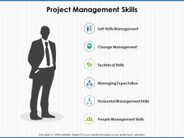 Project Management Skills Managing Expectation Ppt Powerpoint Presentation File