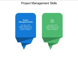 Project Management Skills Ppt Powerpoint Presentation Professional Rules Cpb