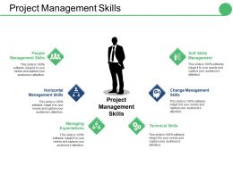 Project Management Skills Ppt Summary Infographic Template