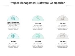 Project Management Software Comparison Ppt Powerpoint Presentation Model Graphic Images Cpb