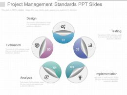 Project Management Standards Ppt Slides
