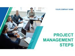 Project Management Steps Powerpoint Presentation Slides