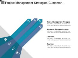 Project Management Strategies Customer Marketing Strategy Resource Strategy Cpb
