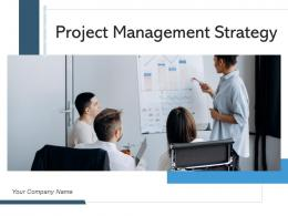 Project Management Strategy Business Analyst Discussing Organizational Goal Communication Planning