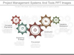 Project Management Systems And Tools Ppt Images