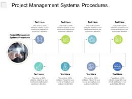 Project Management Systems Procedures Ppt Powerpoint Presentation Portfolio Inspiration Cpb