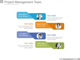 Project Management Team Powerpoint Slide Presentation Guidelines