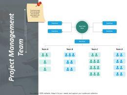 Project Management Team Ppt Inspiration Slides