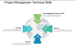 Project Management Technical Skills Ppt Powerpoint Presentation Layouts Portfolio Cpb