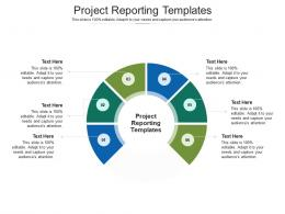 Project Management Templates Ppt Powerpoint Presentation Pictures Shapes Cpb