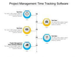 Project Management Time Tracking Software Ppt Powerpoint Presentation File Outfit Cpb