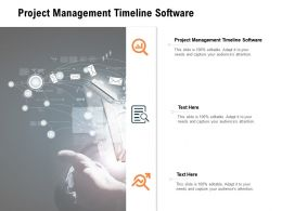 Project Management Timeline Software Ppt Infographic Template Picture Cpb