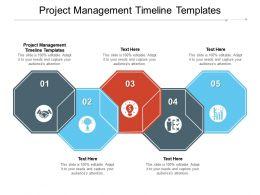 Project Management Timeline Templates Ppt Powerpoint Presentation Diagram Images Cpb