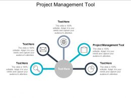 Project Management Tool Ppt Powerpoint Presentation Gallery Infographic Template Cpb