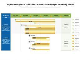 Project Management Tools Gantt Chart For Disadvantages Advertising Internet