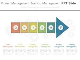 Project Management Training Management Ppt Slide