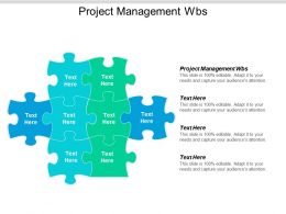 Project Management Wbs Ppt Powerpoint Presentation Model Introduction Cpb