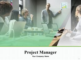 Project Manager Powerpoint Presentation Slides